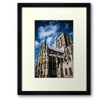 Looking Up at the York Minster #3 Framed Print