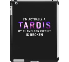 I'm Actually a TARDIS iPad Case/Skin