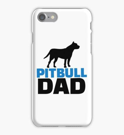 Pit bull Dad iPhone Case/Skin