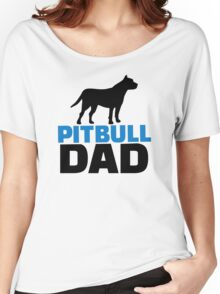 Pit bull Dad Women's Relaxed Fit T-Shirt