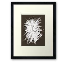 Turbulent Framed Print