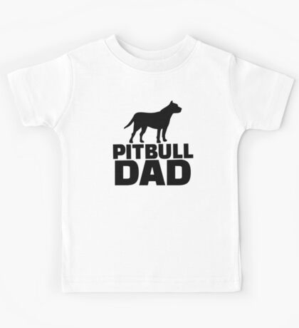 Pitbull Dad Kids Tee