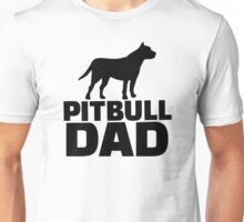Pitbull Dad Unisex T-Shirt