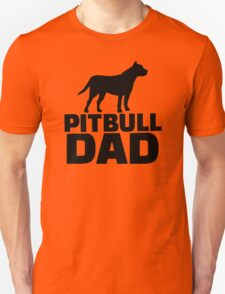 Pitbull Dad Unisex T-Shirt