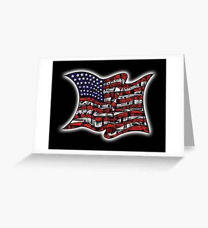 My Home USA Greeting Card