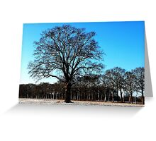 Standing out in the field Greeting Card