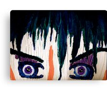 Emo Boy Canvas Print