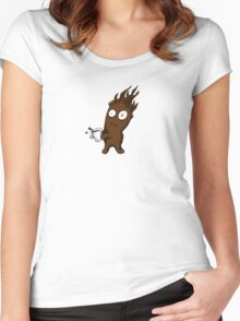 Coffee Goblin Women's Fitted Scoop T-Shirt
