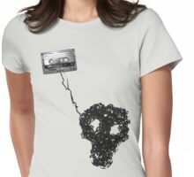 analogue is dead Womens Fitted T-Shirt