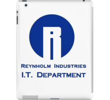 The I.T. Crowd Reynholm Industries iPad Case/Skin