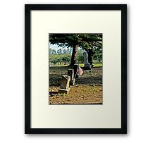 Patriot's Holiday Framed Print