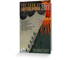 Tour of Sufferlandria 2013 Greeting Card