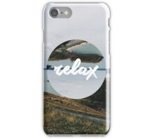 Relax iPhone Case/Skin