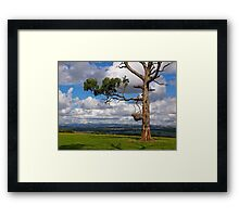 Great farming country, Drouin, Gippsland, Victoria. Framed Print