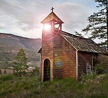 Anglican Church - Texas Creek, Lillooet BC Canada by KansasA