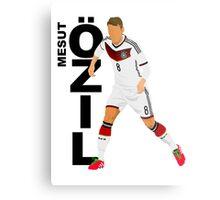 Mesut Özil - Minimalistic Design #1 Metal Print