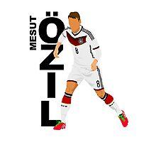 Mesut Özil - Minimalistic Design #1 Photographic Print