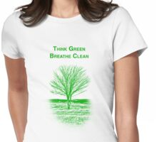 Tree Shirt Womens Fitted T-Shirt