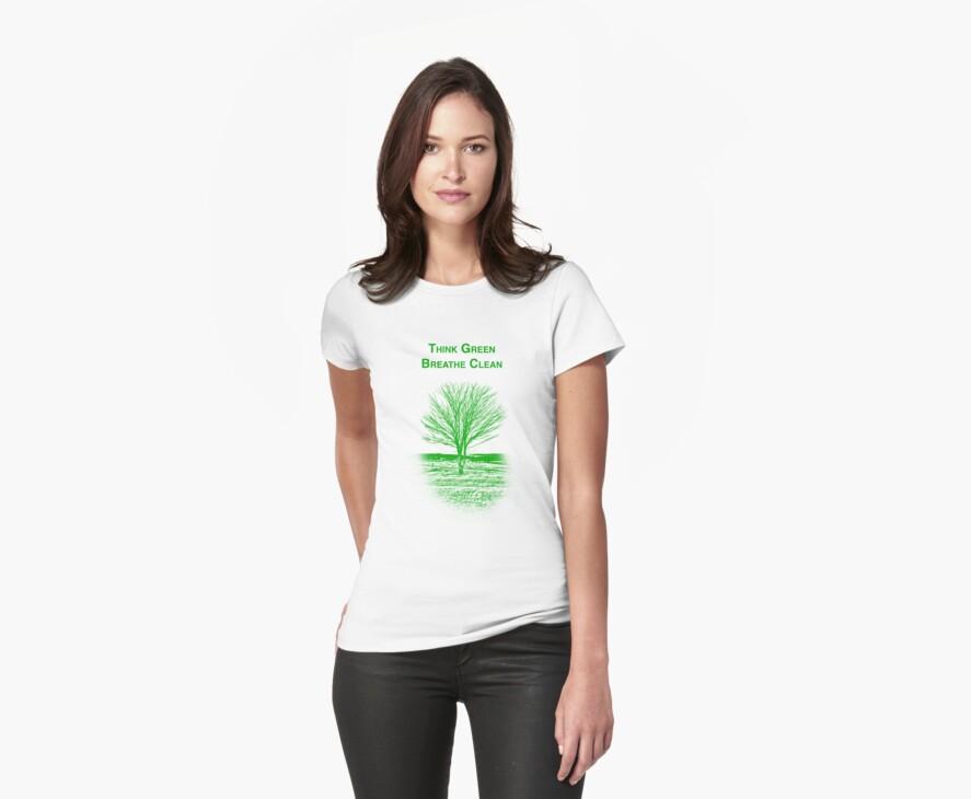 Tree Shirt by Scott Ruhs