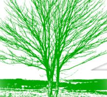 Tree Shirt Sticker
