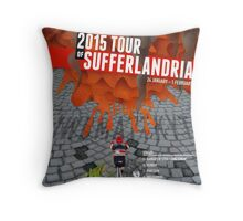 Tour of Sufferlandria 2015 Throw Pillow