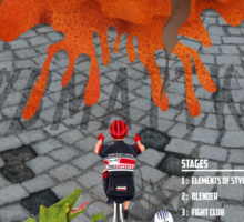Tour of Sufferlandria 2015 Sticker