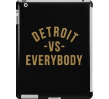 Detroit VS Everybody Gold iPad Case/Skin