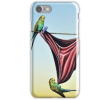 Double Budgie Smugglers iPhone Case/Skin