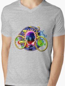 Albert's Wild Ride Mens V-Neck T-Shirt