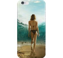 amazing girl iPhone Case/Skin