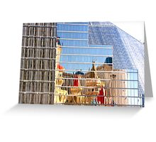 RT14 - Las Vegas Nevada - Excalibur Reflections Greeting Card