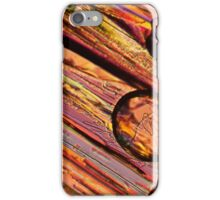 Microscopy, abstract art iPhone Case/Skin
