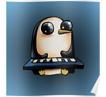 Gunter with Keyboard :: Adventure Time Poster