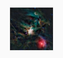 Infrared light veiw of Rho Ophiuchimolecular cloud complex (By NASA) Unisex T-Shirt
