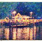 Night on the Wharf. by joche