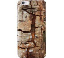 Cracking tree bark iPhone Case/Skin
