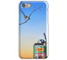 The Early Bird Catches The Worm iPhone Case/Skin