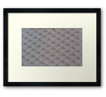 Icecream wafer Framed Print