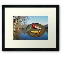 Berry Lebeck Ozark Lure 100 Series 3 Talkie Topper - Fishing Framed Print