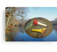 Berry Lebeck Ozark Lure 100 Series 3 Talkie Topper - Fishing Metal Print