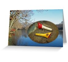 Berry Lebeck Ozark Lure 100 Series 3 Talkie Topper - Fishing Greeting Card
