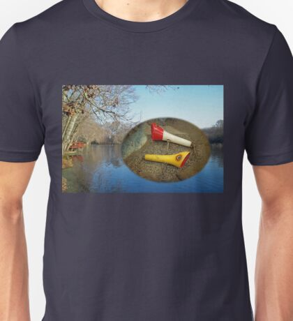 Berry Lebeck Ozark Lure 100 Series 3 Talkie Topper - Fishing Unisex T-Shirt