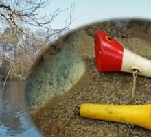 Berry Lebeck Ozark Lure 100 Series 3 Talkie Topper - Fishing Sticker