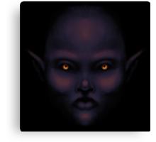 Dark Elf Canvas Print