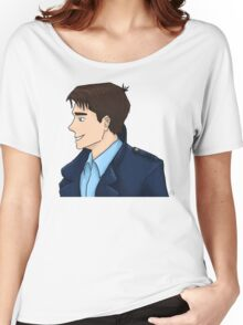 Captain Jack Harkness Profile Women's Relaxed Fit T-Shirt