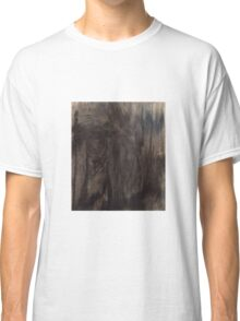 Black and White Smear Classic T-Shirt