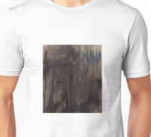 Black and White Smear Unisex T-Shirt
