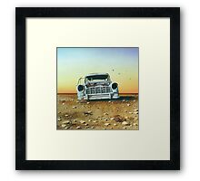 Come on Brocky! We're Outta' Here... Framed Print
