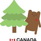 Canada Bear by imaginarystory