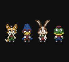 Star Fox Team Mini Pixels Baby Tee